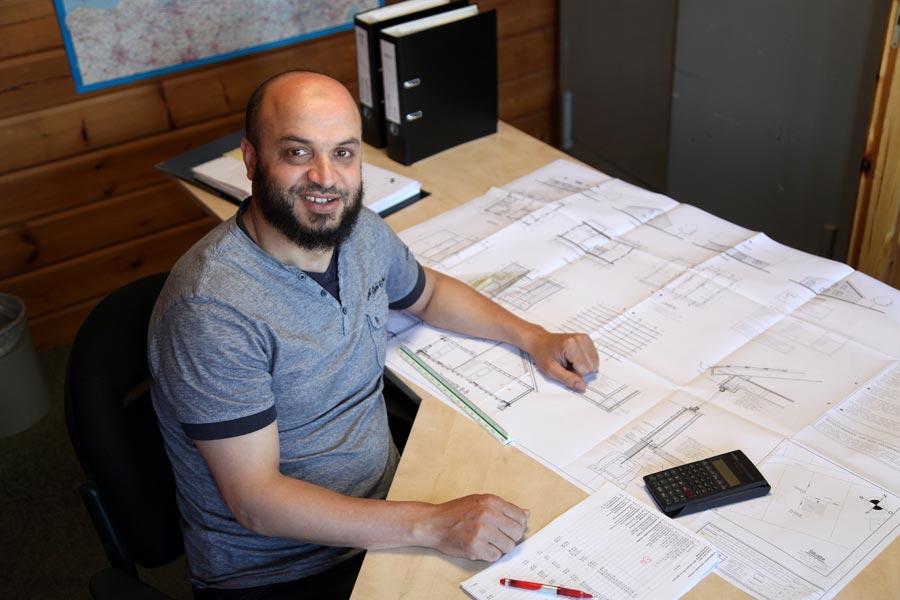 Ali El Moussati calculator houtbouw / houtskeletbouw