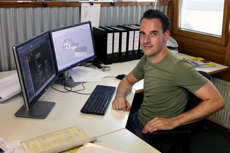 Dennis Arnoldussen, werkvoorbereider houtbouw / houtskeletbouw