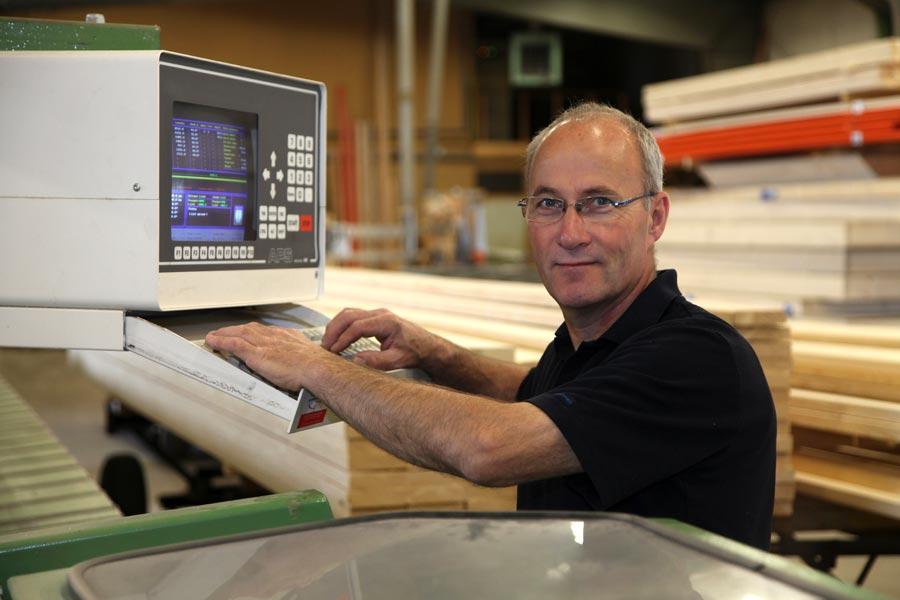 Hans Wassink, productie houtbouw / houtskeletbouw