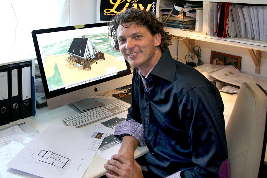 Ivo Hommel, architect houtbouw / houtskeletbouw