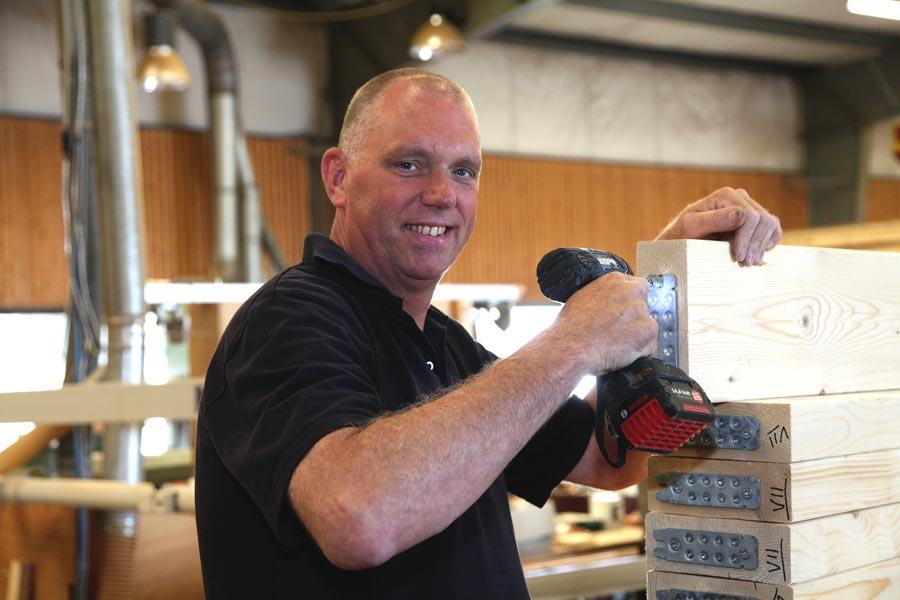 Pierre Janssen, productie houtbouw / houtskeletbouw
