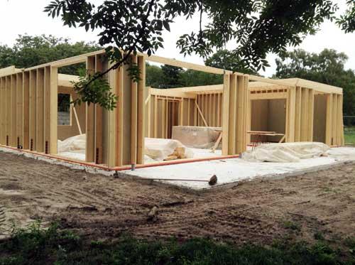 Eigen Huis Bouwen : Zelf houten huis bouwen scanabouw houtskeletbouw
